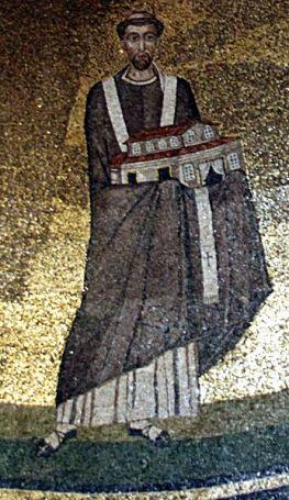 Pope_Honorius_I_-_Apse_mosaic_-_Sant'Agnese_fuori_le_mura_-_Rome_2016